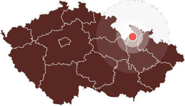 Mapa Nové Losiny